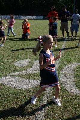 Our little Cheerleader