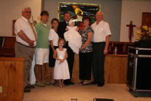 Ella Kate's Baby Dedication!