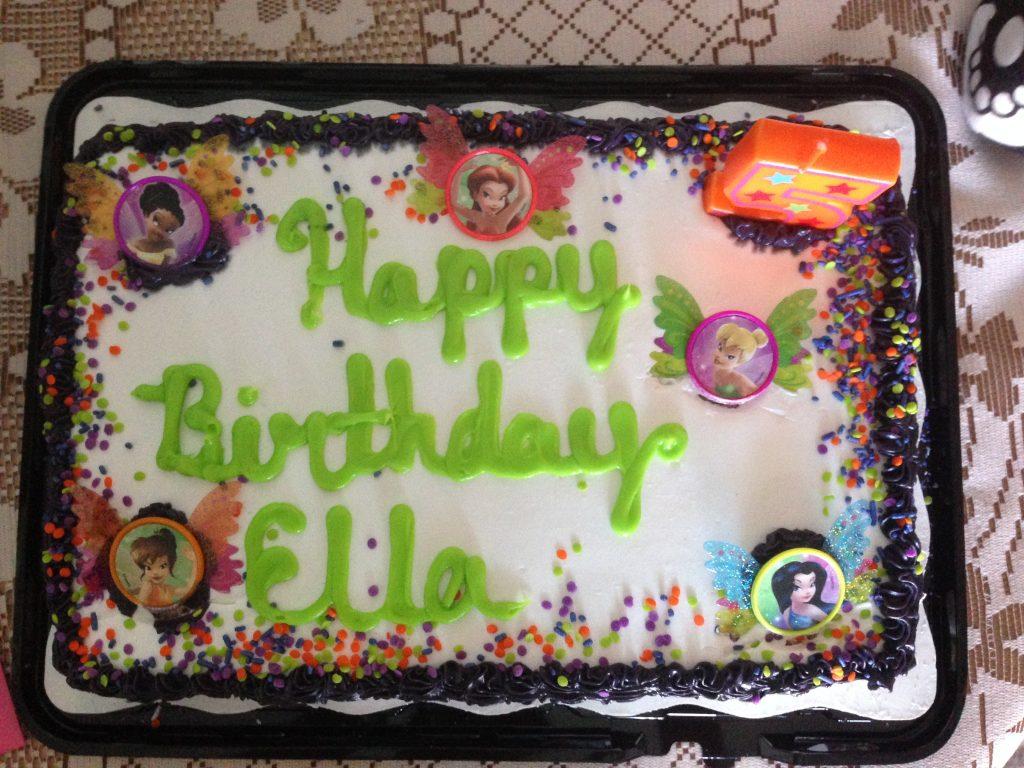 Ella Kate's 5th birthday